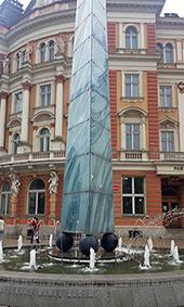 Glass Obelisk