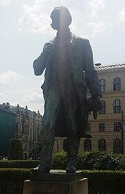 Antonin Dvorak statue