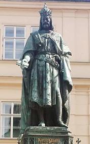 King Charles VI statue
