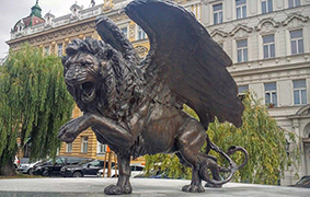 Winged Lion Memorial