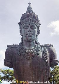 Wisnu statue