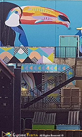 Anya Brock Roe St Mural